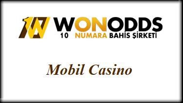Wonodds Mobil Casino