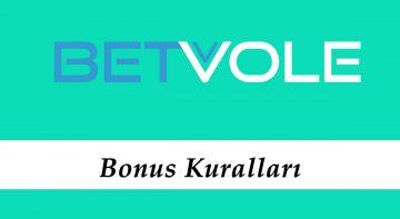 Betvole Bonus Kuralları